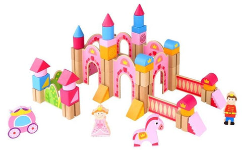 PRINCESS CASTLE BLOCKS-TOOKY