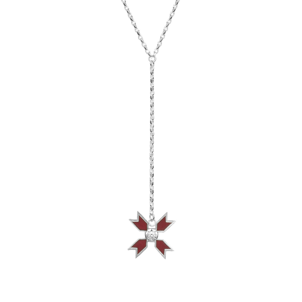 Carlina Lariat Necklace