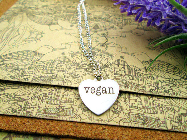 'Heart' Vegan Necklace