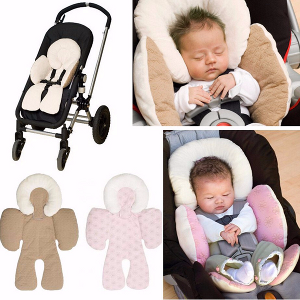 Reversible Baby Body Support For Baby's Back and Head, For Use in Car Seat-Stroller