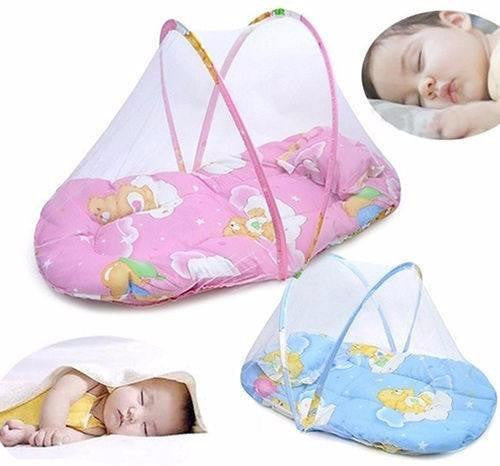 Portable Foldable Travel Bed-Crib With Mosquito Netting Sleep