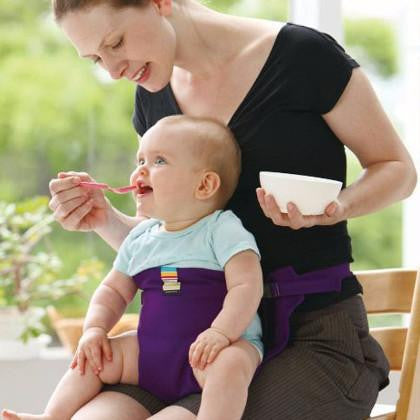 Portable Infant Feeding Harness-Baby Booster Seat-Chair