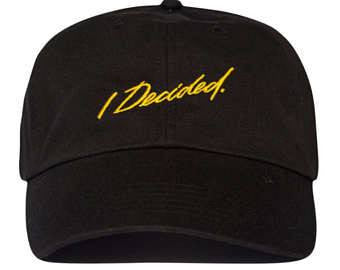 "Dad Hats - ""I Decided"" Big Sean Dad Hat"