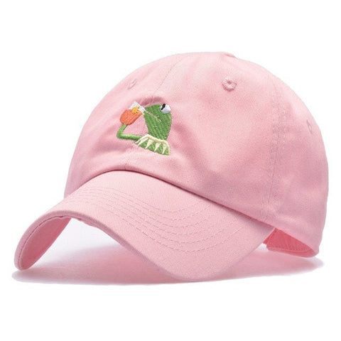 "Dad Hats - ""Kermit The Frog That Ain't None Of My Business"" Dad Hat~5 Colors"