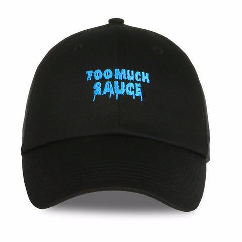 "Dad Hats - ""Too Much Sauce"" Dad Hat"