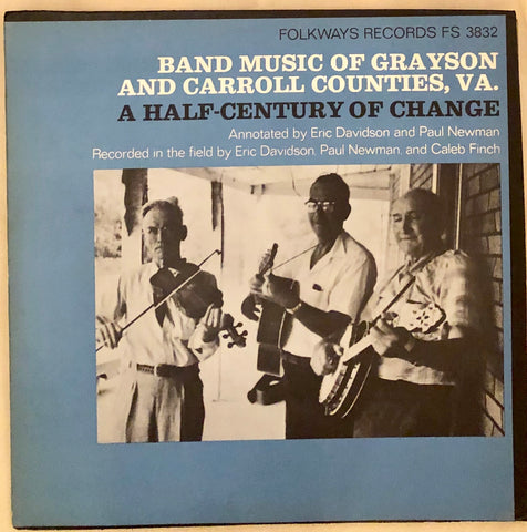 Band Music Of Grayson And Carrol Counties, VA.: A Half-Century Of Change