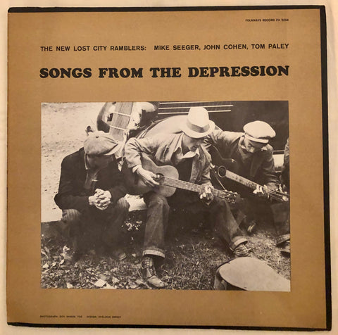 The New Lost City Ramblers ‎– Songs From The Depression