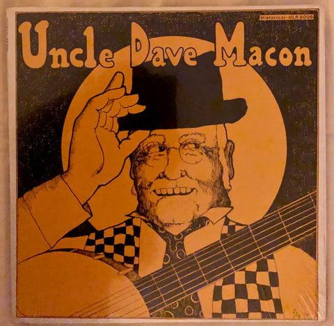 "Uncle Dave Macon ‎– 1926-1939 ""Wait 'Till The Clouds Roll By"""