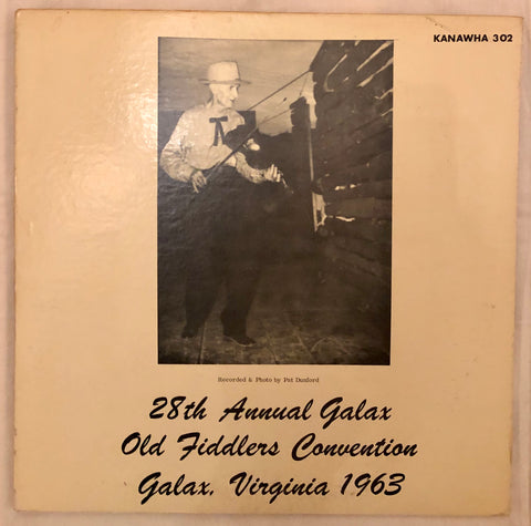 28th Annual Galax Old Fiddlers Convention Galax, Virginia 1963