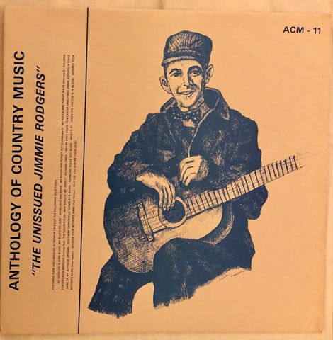 Jimmie Rodgers ‎– The Unissued Jimmie Rodgers