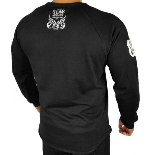 Men's Crew Neck Black - Ludus Athleisure