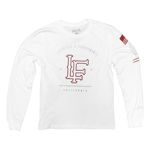 California Long Sleeve White - Ludus Athleisure