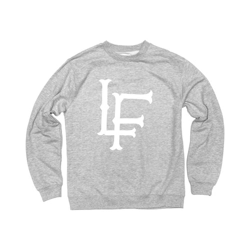 LF Crewneck Heather Grey - Ludus Athleisure