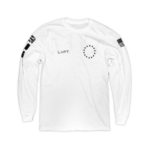 Live Fit Athlete Long Sleeve White - Ludus Athleisure