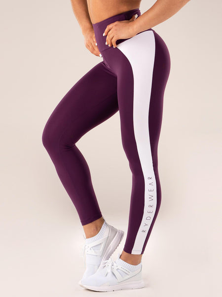 USA Leggings Black