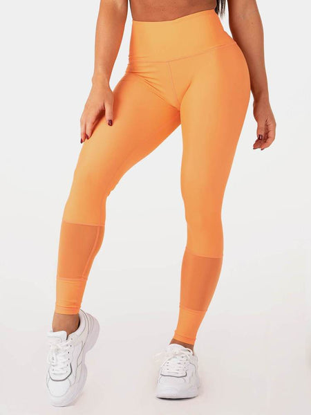 Seamless Leggings - Coral Marl