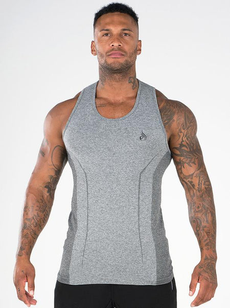 Seamless T-Shirt Charcoal Marl