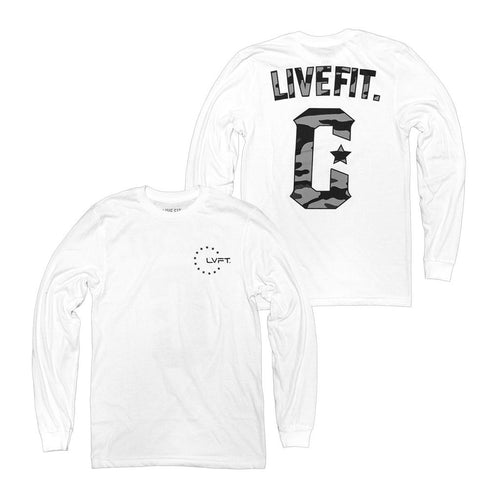 Militant Long Sleeve White - Ludus Athleisure