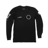 Live Fit Athlete Long Sleeve Black - Ludus Athleisure