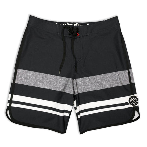 Wedge Boardshorts Black - Ludus Athleisure
