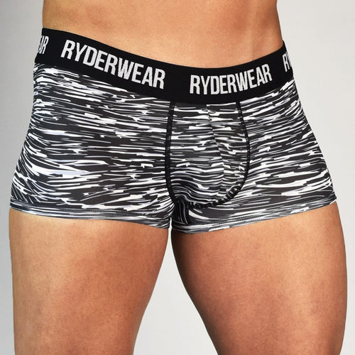 Boxer Brief Charcoal Marl - Ludus Athleisure