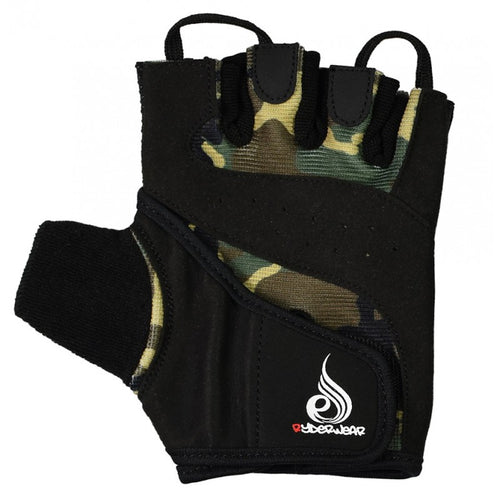 Camo Lifting Gloves Black/Camo - Ludus Athleisure