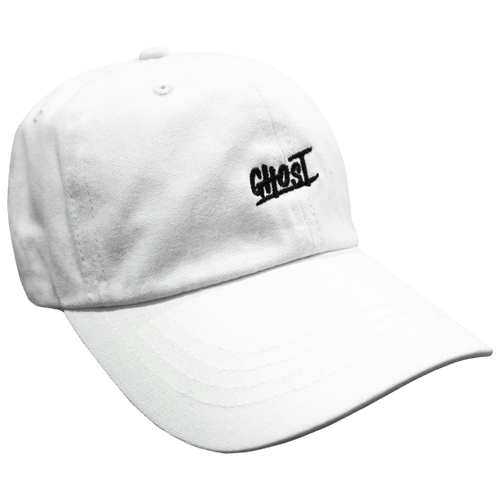 Ghost Dad Hat White - Ludus Athleisure