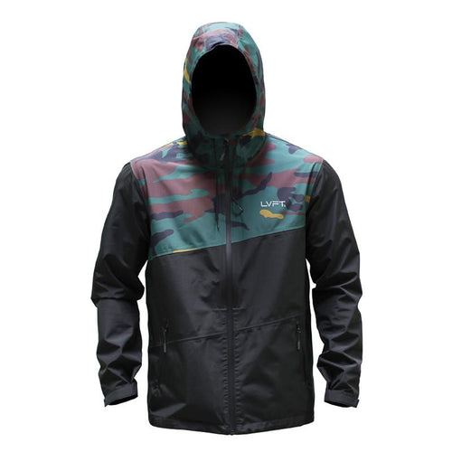 Recon Tech Jacket Green Camo - Ludus Athleisure