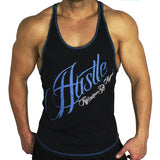Hustle T-Back Blue - Ludus Athleisure