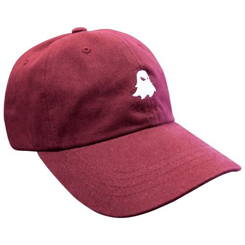 Ghost Dad Hat Burgundy - Ludus Athleisure