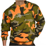 Camo Pullover Orange - Ludus Athleisure