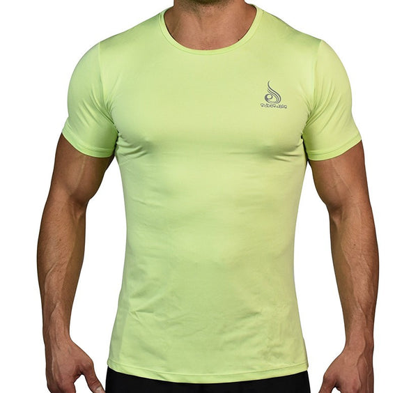 Flight Tee Lime - Ludus Athleisure