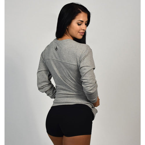 I Got This Sweater Grey - Ludus Athleisure