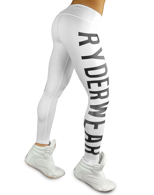 Ryderwear Athletica Tights White - Ludus Athleisure
