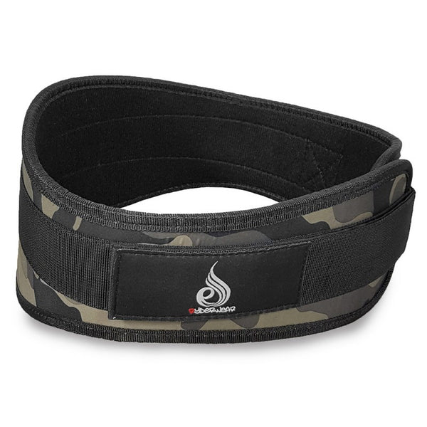 Neoprene Lifting Belt Camo - Ludus Athleisure