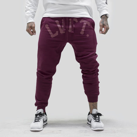 Jogger Sweat Pants Red