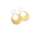 Mega Stud Loop Statement Earring