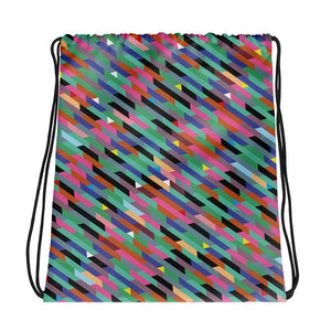Triangles and Trapezia Drawstring bag