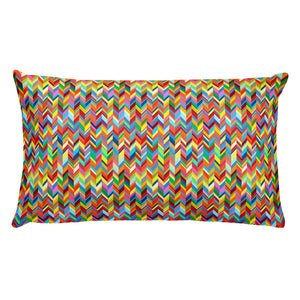 Chevronic Rainbow Pillow
