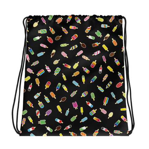 Lost Ice Lollies Drawstring bag