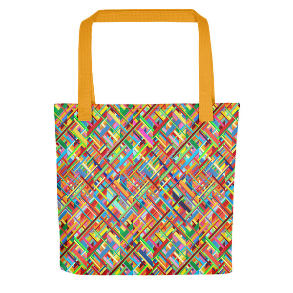 Colourful Chaos Tote bag