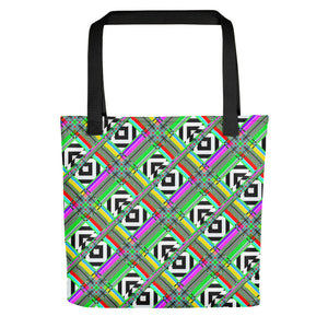 Glitched Tote bag