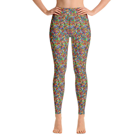 Stained Glass Yoga Leggings (Alt Colours)