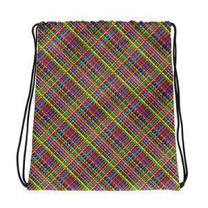Untidy Weave Drawstring bag (Alt Colours)