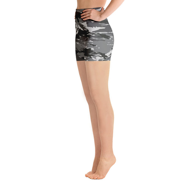 Tiger Camouflage Yoga Shorts (Alt Colours)