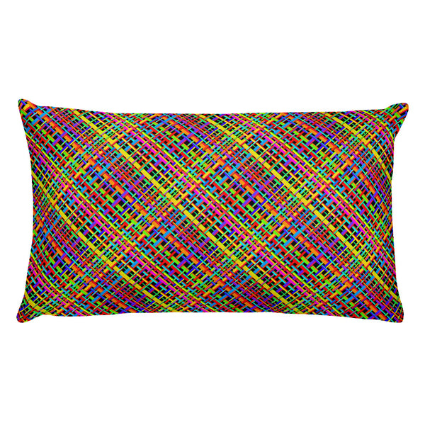 Untidy Weave Premium Pillow (Alt Colours)