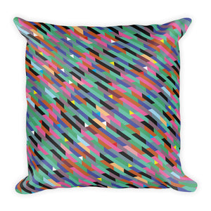 Triangles and Trapezia Pillow