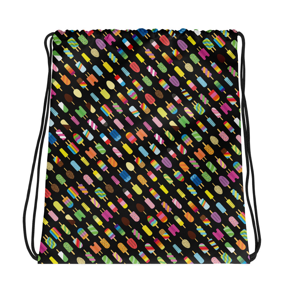 Orderly Ice Lollies Drawstring bag