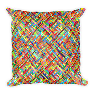 Colourful Chaos Pillow