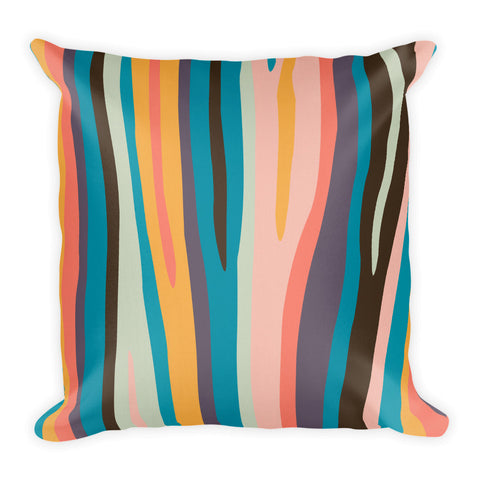 Zebra Paint By Numbers Pillow (Alt Colours)